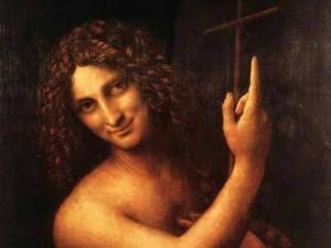 San Giovanni Battista, Leonardo da VInci (1508-1513), Museo del Louvre