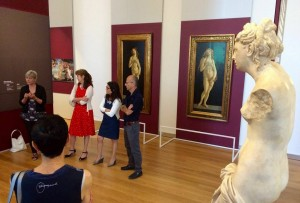 Le due Veneri botticelliane al fianco dell'Afrodite ellenistica