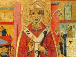 """""""San Nicola e le storie della sua vita"""", Michele di Baldovino, complesso museale di Ugento"""