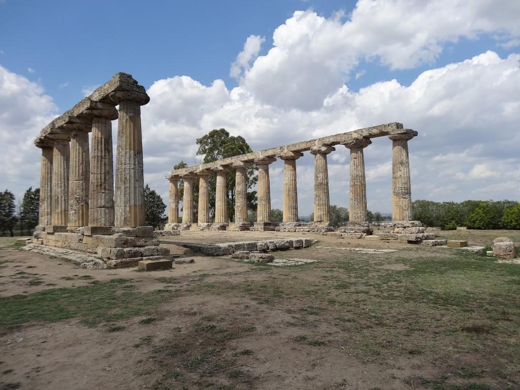 Il tempio dedicato alla dea Hera, a Metaponto