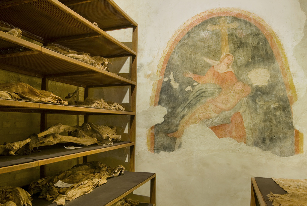 La cripta della Buona Morte, Monsampolo