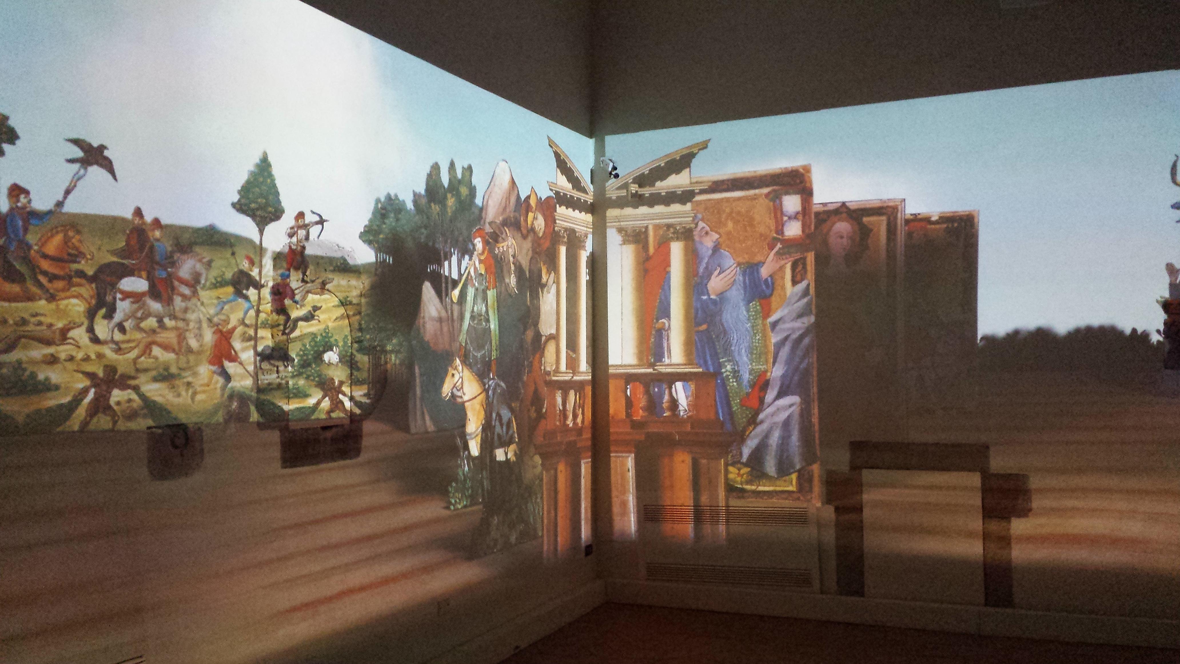 Il teatro virtuale – Foto di Marcello Ravveduto