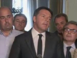 """Terremoto, il premier Renzi: """"Ci sono almeno 120 morti"""""""
