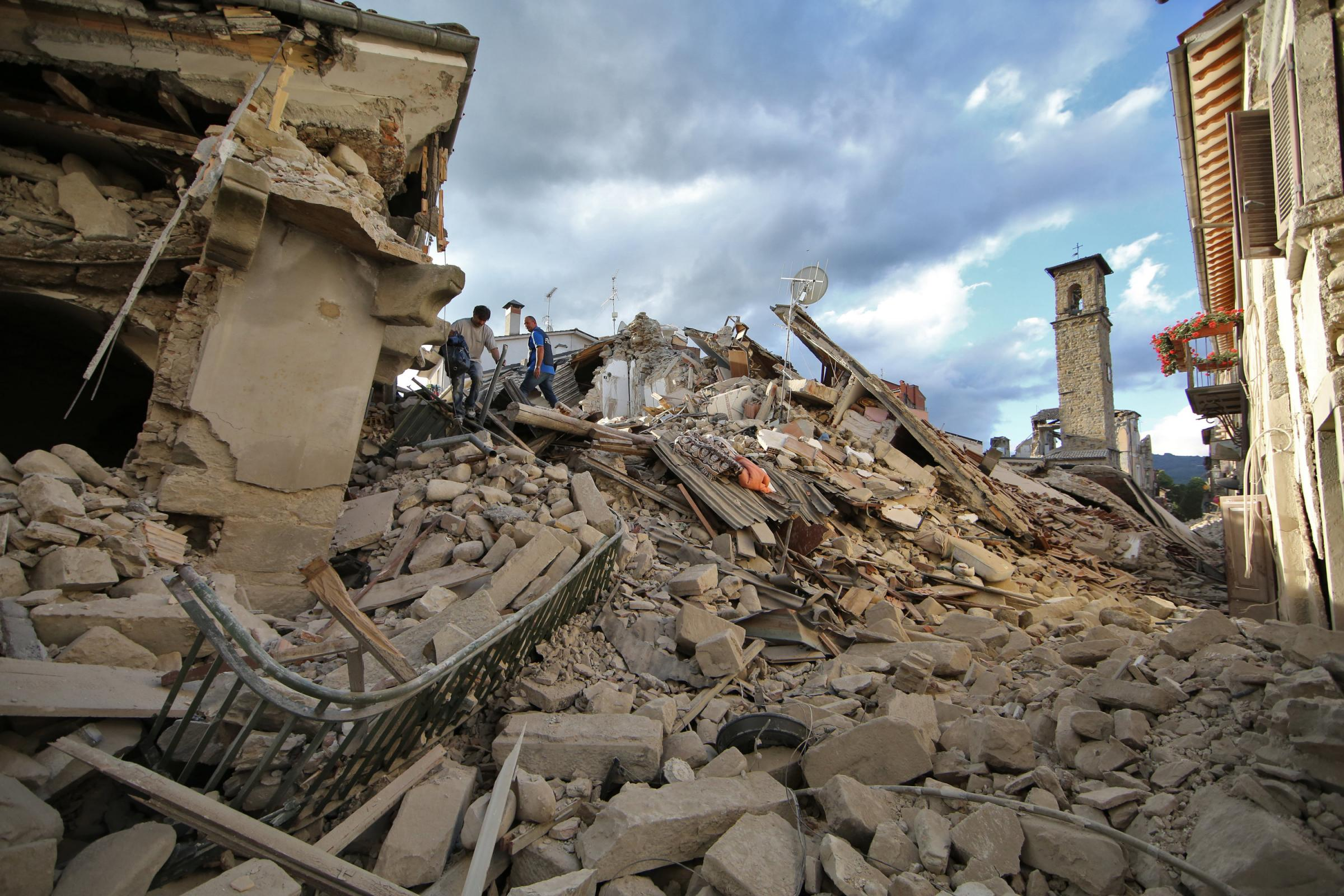 Terremoto centro Italia: la serie di scosse di assestamento