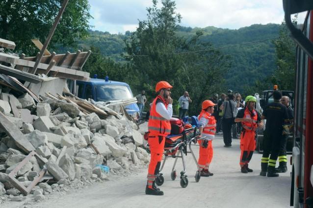 Terremoto, 81 i feriti all'ospedale di Ascoli Piceno