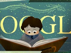 """Il doodle ispirato a """"La storia infinita"""""""