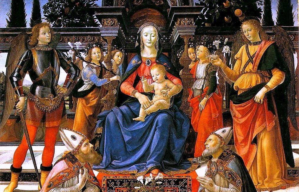 Sacra conversazione degli Ingesuati, Domenico Ghirlandaio (1484-1486 circa)