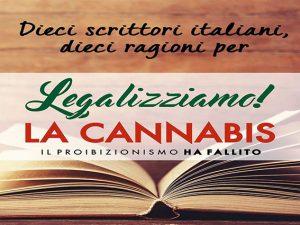 Cannabis, da 10 scrittori italiani 10 ragioni per legalizzarla