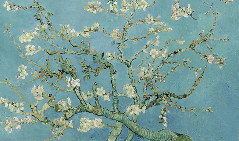 Ramo di mandorlo fiorito, 1890, Van Gogh Museum, Amsterdam