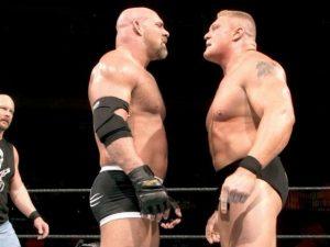 Wrestling, domenica Brock Lesnar contro Goldberg dodici anni dopo il loro primo match