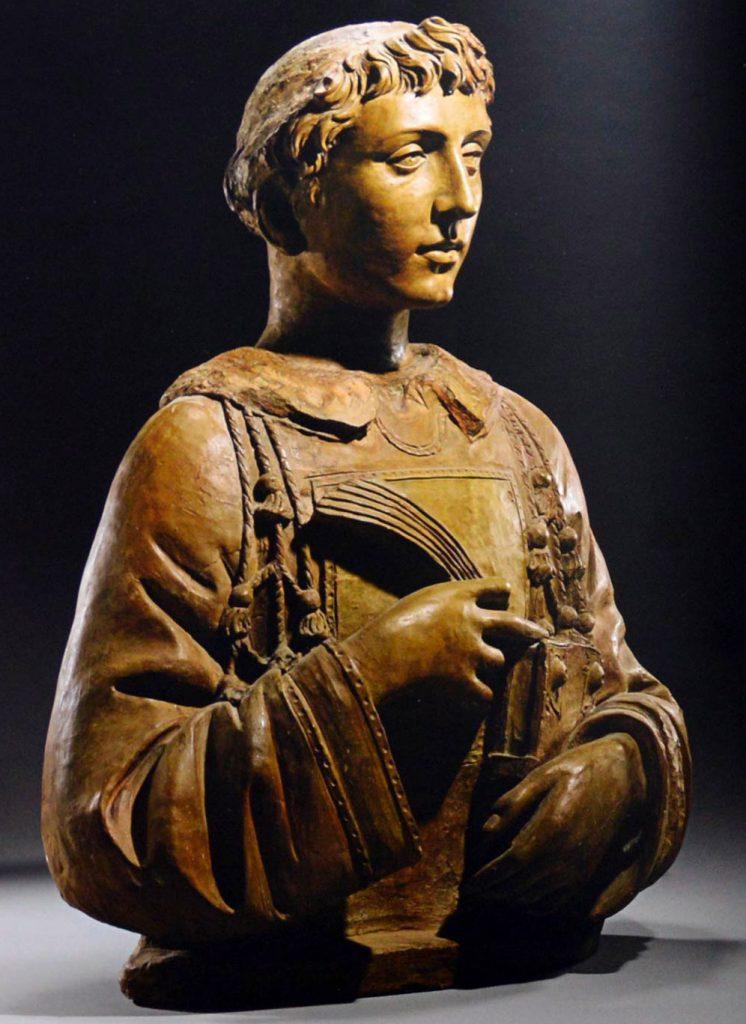 San Lorenzo, scultura di Donatello