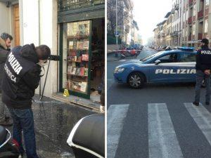 Firenze, ordigno contro libreria di Casa Pound: poliziotto perde mano e occhio