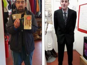 La vita di questo ex senzatetto è cambiata completamente grazie ad un caffè