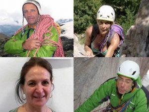 Mauro, Fabrizio e le due Antonella, scalatori morti a Gressoney  erano alpinisti esperti