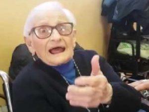 Morta Rosa Ercoli: aveva 107 anni ed era la terremotata più