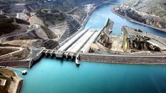 La diga Atatürk in Turchia parte del progetto