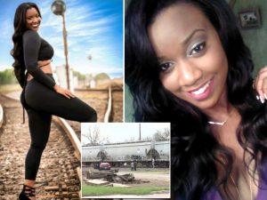 Modella incinta muore travolta da un treno mentre scatta questa foto sui binari