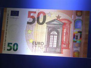 Arriva la nuova banconota da 50 euro: sarà ancora più sicura