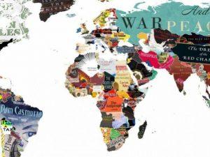 Geografia della letteratura: ogni paese del mondo è rappresentato su mappa da un libro