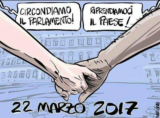 Ecco i forconi 3 0 il 22 marzo il parlamento italiano for Concorsi parlamento italiano 2017