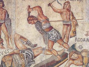 Elegant Il Mosaico Del Gladiatore, Galleria Borghese, Roma