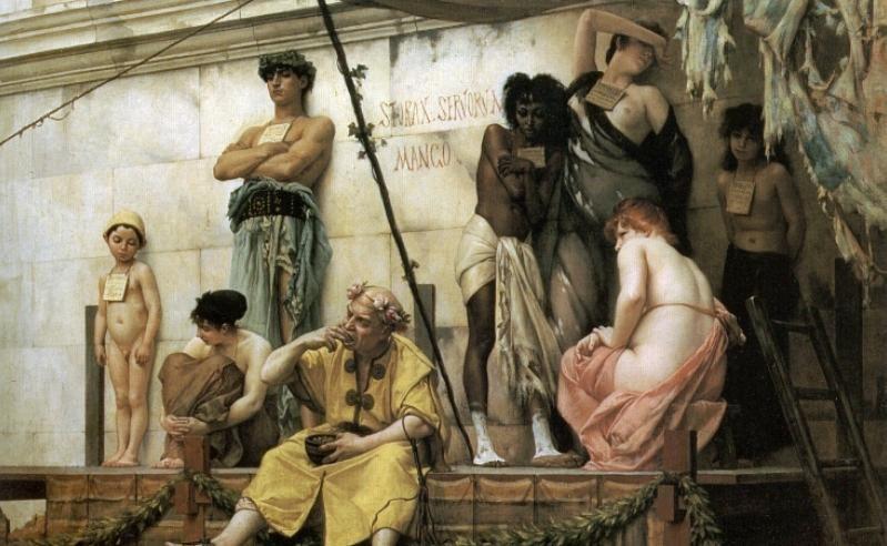 Il Mercato Degli Schiavi, Di Gustave Boulanger