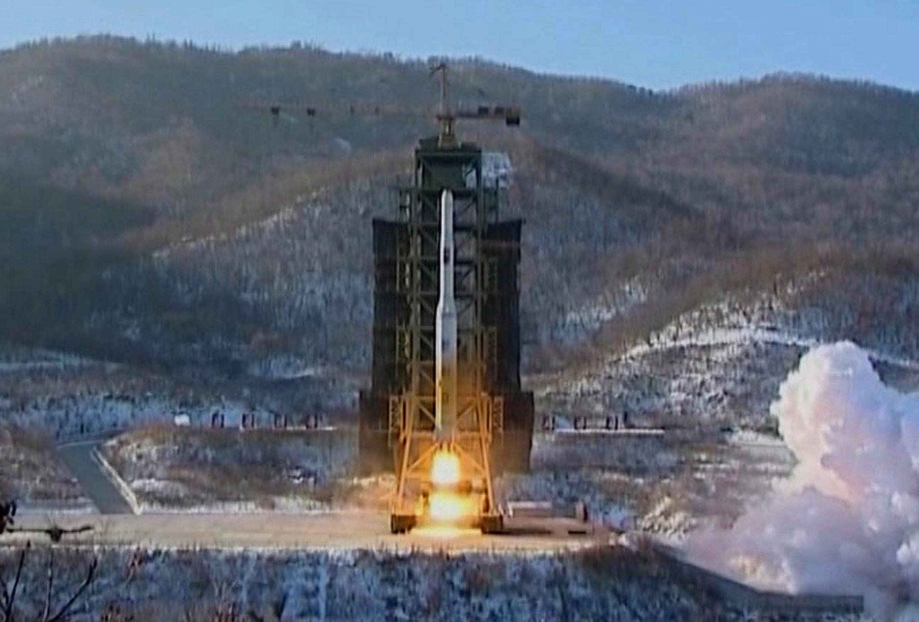 Test missilistico in Corea del Nord