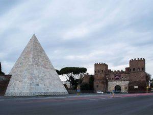 """L'Europa Award al restauro della Piramide di Roma: """"Così risplendono gli antichi marmi"""""""