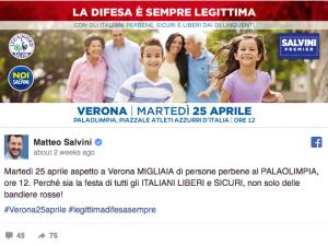 salvini famiglia italiana