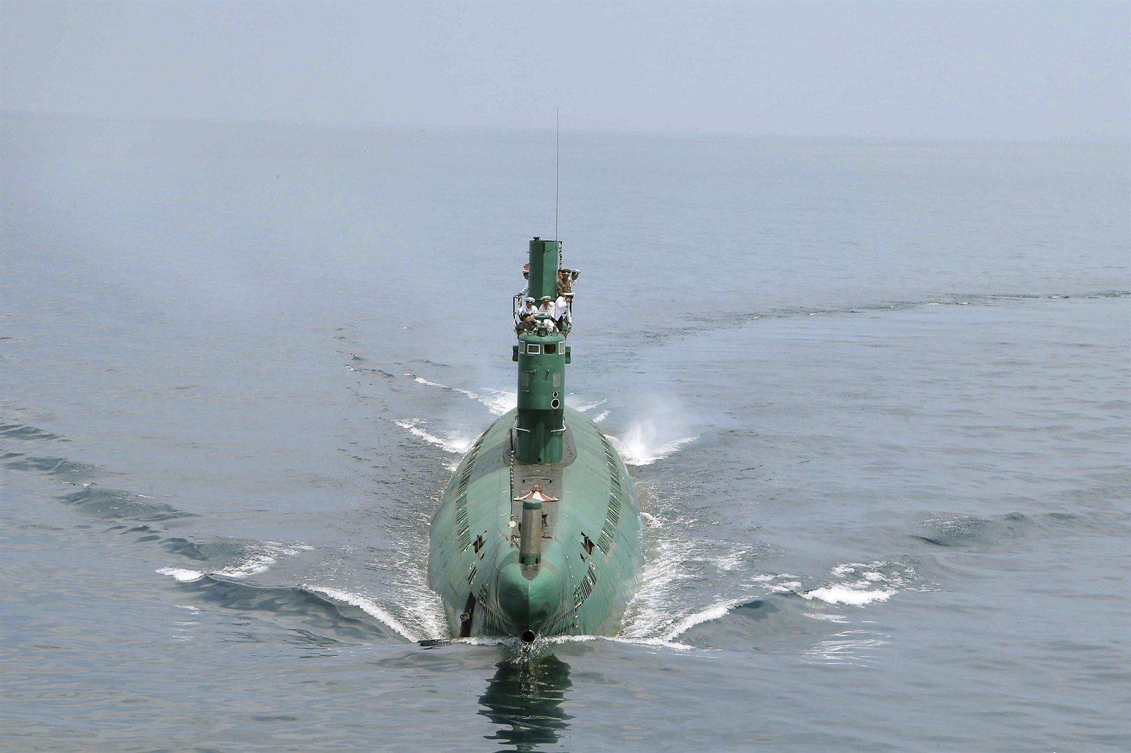 Sottomarino nordcoreano della classe Gorae in grado di lanciare missili balistici