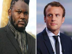 Francia: Makao, il gigante (2 metri e 13) che protegge il presidente Macron
