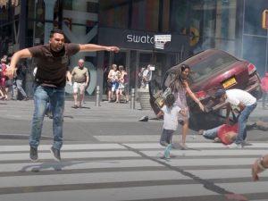 """Richard Rojas, l'autista impazzito di New York: """"Delle voci mi hanno detto di farlo"""""""