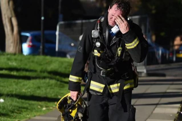 """Pompieri traumatizzati: """"Abbiamo visto cose orribili"""""""