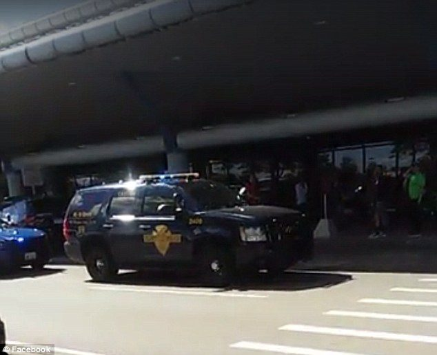 Usa, agente ferito con un coltello all'aeroporto del Michigan: scalo evacuato
