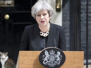 La premier inglese Theresa May