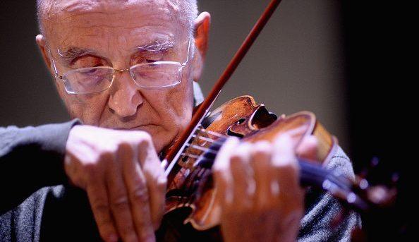 Salvatore Accardo, vincitore del Premio Paganini nel 1958