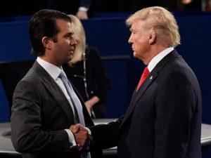 """San Donato Milanese, Trump Jr. ironizza: """"Perché non accogli"""