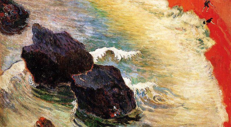 Paul Gauguin, L'Onda (1888)