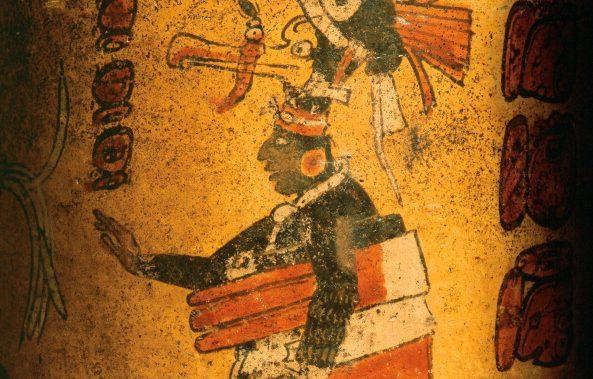 Vaso messicano (500 a. C.)
