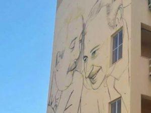 Palermo risponde ai vandalismi enorme murales ricorda for Arrediamo insieme palermo