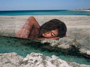 L'ultima opera di Sean Yoro a Porto Cesareo