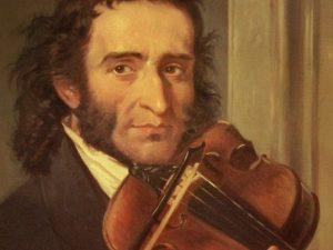 Uno dei numerosi ritratti di Niccolò Paganini