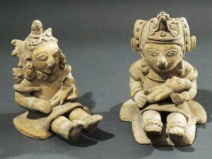 Statue della fertilità provenienti dall'Ecuador (V secolo a. C.)