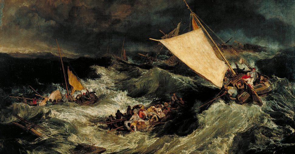 William Turner, Il naufragio (1805)