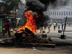 Kenya scontri dopo le elezioni