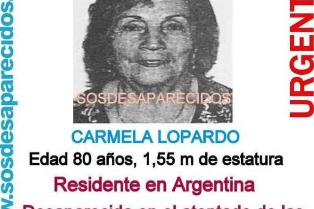 Identificata la terza vittima italiana: è Carmen Lopardo, italoargentina