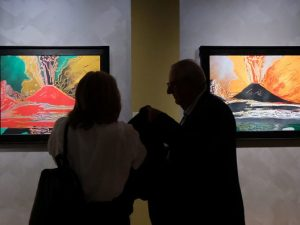 """Le mille luci di New York"" in mostra a Napoli."