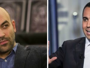 "Roberto Saviano all'attacco del Movimento 5 Stelle: ""Stampel"