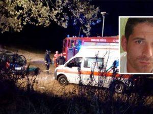 San Benedetto del Tronto: giovane papà si schianta con l'auto e muore a 36 anni