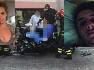 Padova: terribile schianto in auto, morti i ventenni Chiara e Filippo